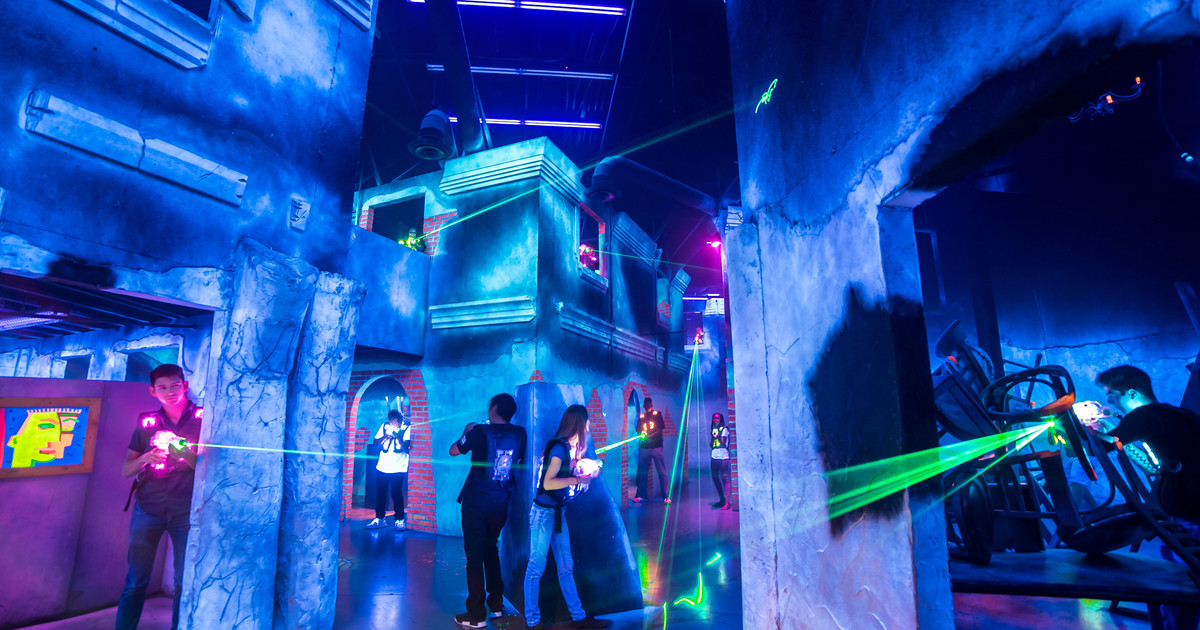 De-stress with laser tag in Singapore