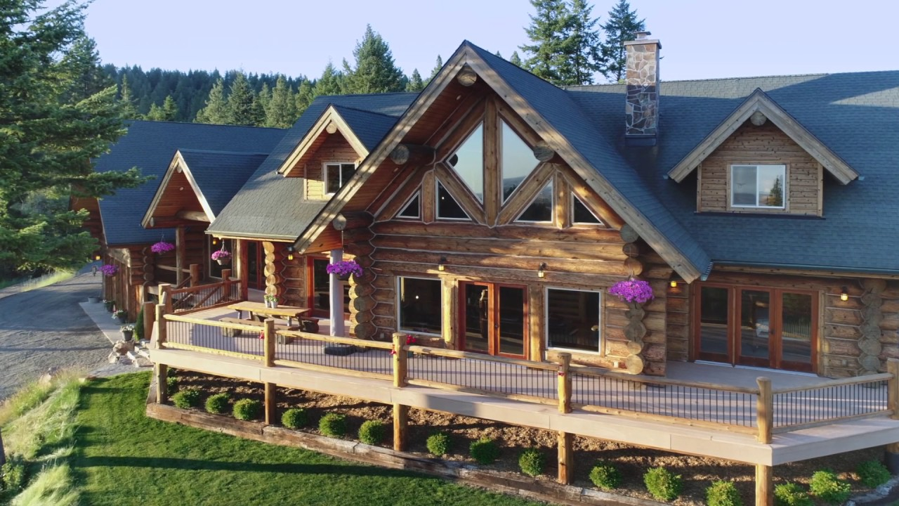 Arranging A Luxury Log Home
