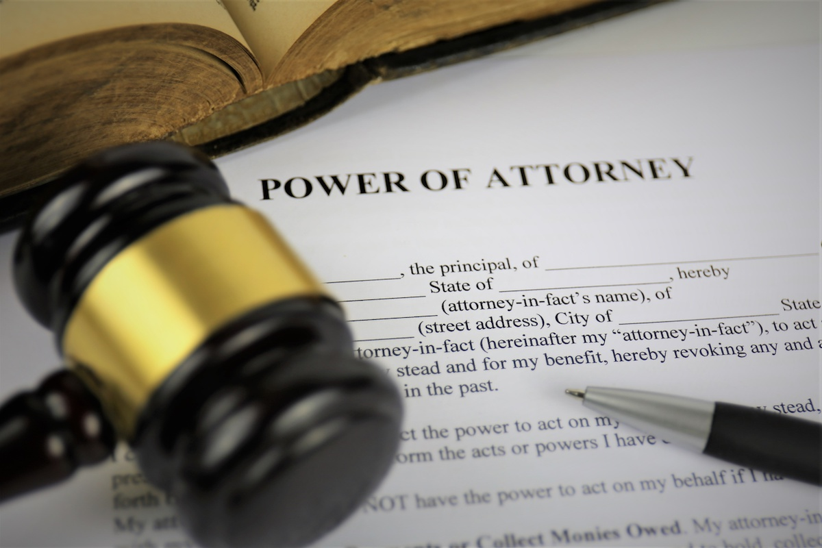 System of Giving Power of Attorney